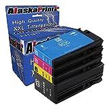 4x Druckerpatronen kompatibel mit HP 953 XL 953XL Multipack für OfficeJet Pro 7740 WF 8200 Series 8210 8216 8218 8710 8715 8718 8719 8720 8725 8730 8740 8728 Tinte Drucker Patrone Tintenpatronen