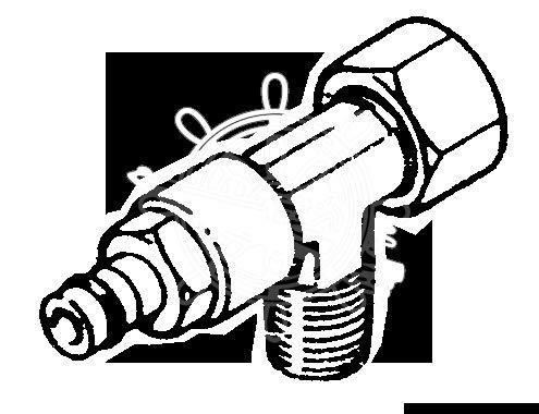Raccordo per Pompe Ultaflex a T 3/8 (VFN38)