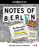 Notes of Berlin 2020 -