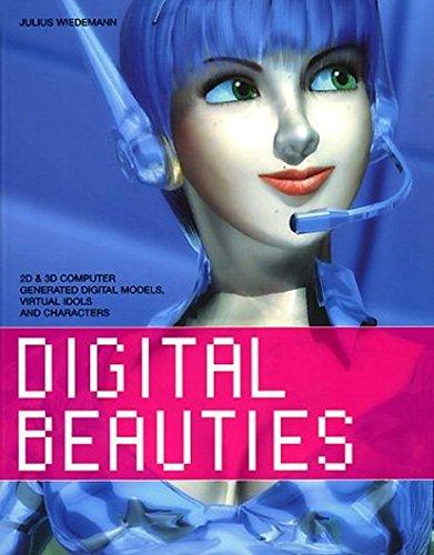 Digital Beauties (édition trilingue : anglais - français -allemand) par JULIUS WIEDEMANN