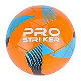 Toyrific PRO Striker 2, Calcio Unisex, Orange & Black, 5