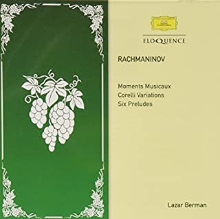 Rachmaninov: Moments Musicaux; Corelli Variations; Six Preludes by Lazar Berman (B00M2XHNRG) | Amazon price tracker / tracking, Amazon price history charts, Amazon price watches, Amazon price drop alerts