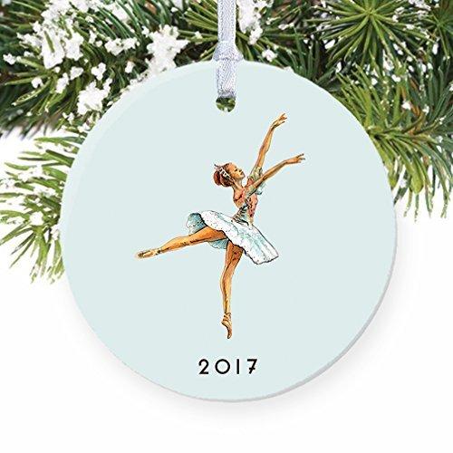 �r Kinder Vintage Nussknacker Ballerina Pastell Xmas Tree Ornament Deko für Home ()