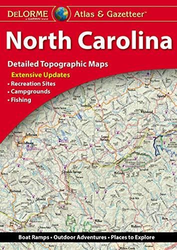 Delorme North Carolina Atlas & Gazetteer (Karte Carolina Von North)