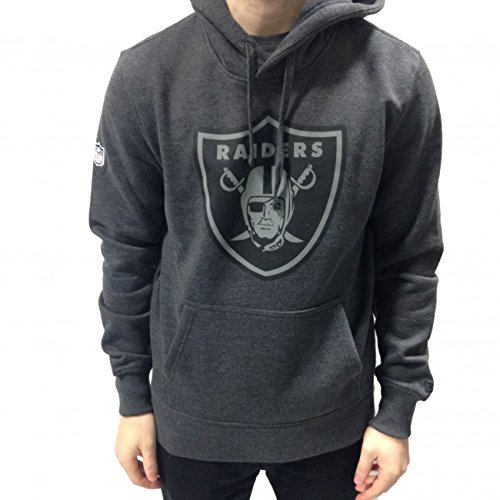 NFL Oakland Raiders Grey Collection Hoodie (New Era)