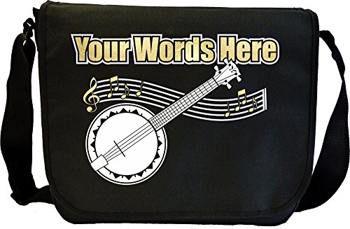 Banjolele Banjo Ukulele - Angefertigt Personalisiertes Sheet Music Document Bag Musik Noten Tasche MusicaliTee