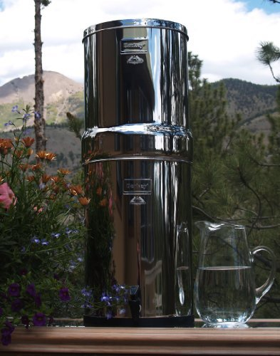 Berkey crn8X 8-cf Krone Berkey 6.0Gal. Edelstahl Wasser Filter mit Keramik Filter