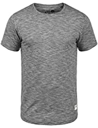 SOLID Figos Herren T-Shirt Melange Optik