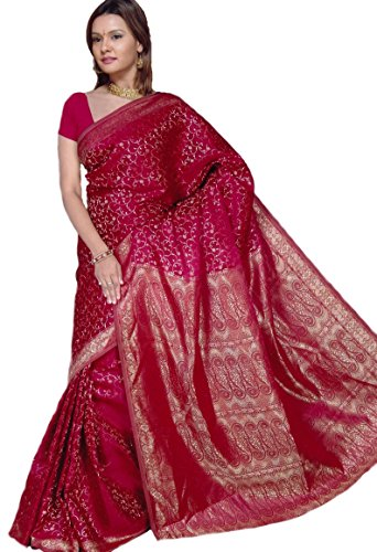 fertig-gewickelter-bollywood-sari-indien-bordeaux-gr-m-bis-l