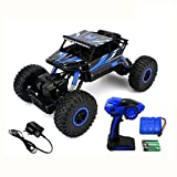 #3: Super Toys 1:18 Scale 4WD Rock Monster Crawler Truck with Kinsmart Pull Back Action Die-Cast Car Toy, Available in Multiple Colors