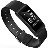 Touch Screen Smartuhr,Fitness Fitness Tracker,wasserdicht Sport Fitness Armband Uhr mit Step Track Sleep Monitor Aktivität Tracker Pedometer Kalorienzähler Fitness Armband für iPhone Android Handys