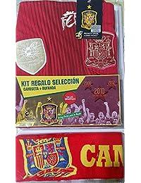 Kit selección española camiseta + bufanda (Talla 12) Producto oficial.