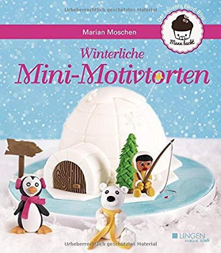 Winterliche Mini-Motivtorten (Meine Welt)