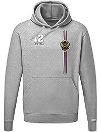 WM 2018 - Russia Digital - Russland - Herren Hoodie Kapuzenpullover