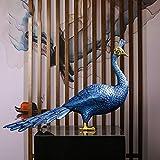 GAL Exquisite Peacock Dekoration Wohnzimmer TV Schrank Weinklimaschrank Dekoration Einweihungs Neue Kreative Hochzeitsgeschenk 54 * 37cm - 5