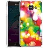 Samsung Galaxy A3 (2016) Housse Étui Protection Coque Lumières Points Motif