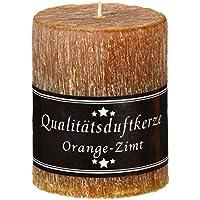 Stumpen rustik 70 x 90 mm mit Duft Orange-Zimt preisvergleich bei billige-tabletten.eu