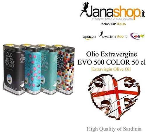12 x OLIO EXTRAVERGINE, Olio Extravergine di Oliva Fruttato Semidana,