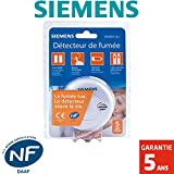 Siemens - Détecteur de fumée NF Siemens SIDOREX SA7- Autonomie 1 an - Garantie 5 ans
