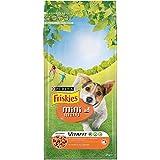 Friskies Chien Mini Menu Croquettes pour chien adulte Poulet & Légumes ajoutés 2 kg - Lot de 6 (12 kg)