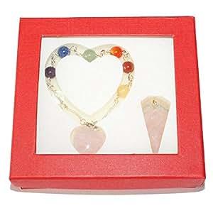 Coffret 7 Chakras bracelet et pendule