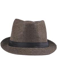 Smile YKK Femme Chapeau Paille Unisexe Casquette Uni Pamana de soleil Bonnet Outdoor