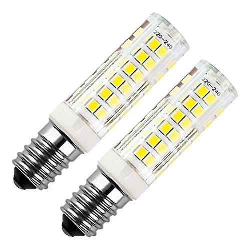 E14 bombilla LED 7W 500LM, ZSZT rosca Edison pequeña (SES), equivalente a...
