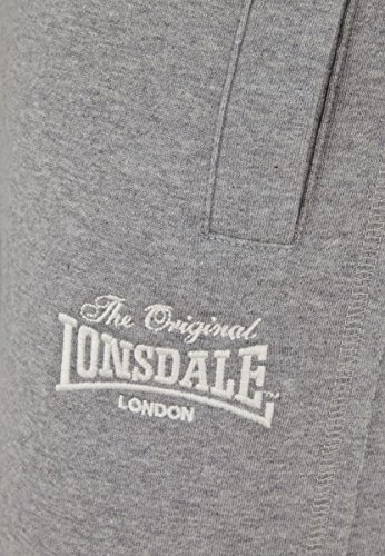 Lonsdale Sweatshort Dulverton marl grey