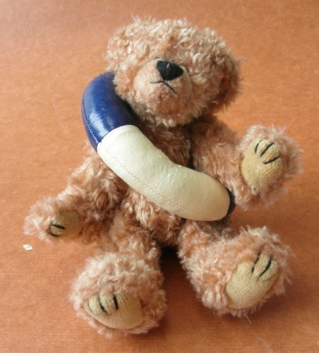 TY Attic Treasures Allura the Teddy Bear Stuffed Animal Plush Toy with Inner Tube - 8 inches tall by Smartbuy