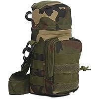 zhang-hongjun,Petite Bouteille Militaire d'emballage pour la Taille et Les Sacs légers de Bouteille de Molle(Color:Camouflage)