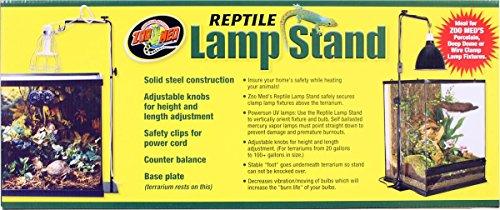 Zoo Med LF-20 Reptile Lamp Stand - verstellbare Lampenhalterung -