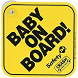 Safety First Baby On Board (Yellow)