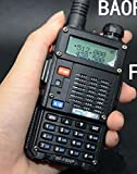 BaoFeng BF-F8HP (UV-5R 3rd Gen) 8-Watt Dual Band Two-Way Radio (136-174MHz VHF & 400-520MHz UHF) Includes Full Kit with Large Battery (BF-F8HP Style 2)