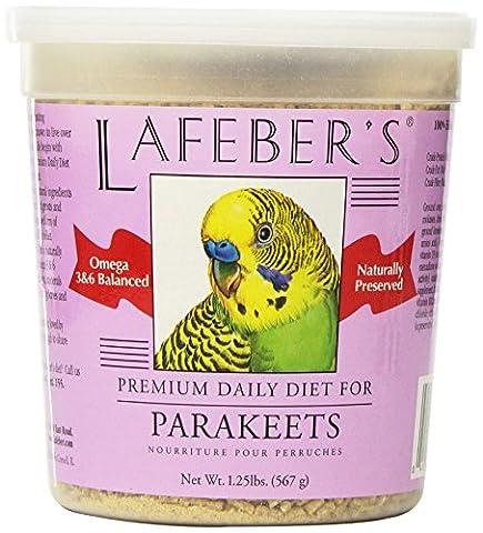 Lafeber Premium Daily Diet Parakeet Pellets Parakeet Natural Ingredients 1.25