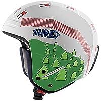 Casco de esquí Shred basher Ultimate Mr GS , unisex, color blanco, tamaño medium