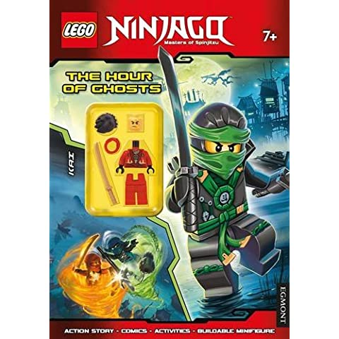 Lego® Ninjago: The Hour of Ghosts (Activity Book with Minifigure)