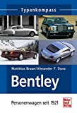 Bentley: Personenwagen seit 1921