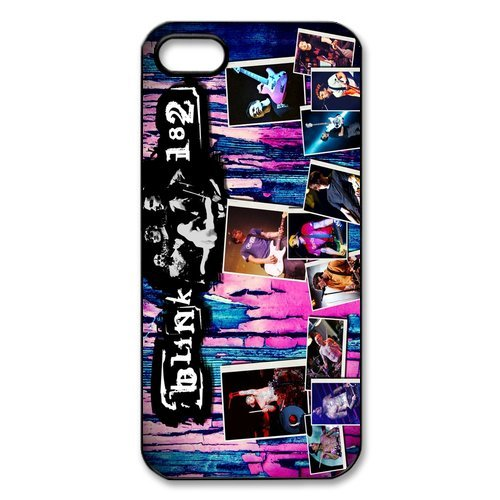 Etui iPhone 5S, iPhone 5Case, coque pour iPhone 55S Motif Blink 182Designs Back Case Cover For Apple iPhone 55S, Apple iPhone 5s Coque de protection Case Cover