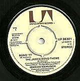 "Bond '77 / The James Bond Theme - Marvin Hamlisch 7"" 45"