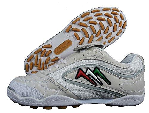 AGLA , Chaussures pour homme spécial foot en salle noir noir EUR 41.5 Blanc
