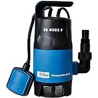 Güde 94630 GS4002P Pompe submersible avec interrupteur à flotteur Noir/bleu