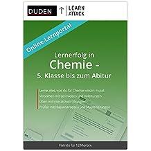 Duden Learnattack – Lernerfolg in Chemie - 5. Klasse bis zum Abitur (12 Monate Flatrate)