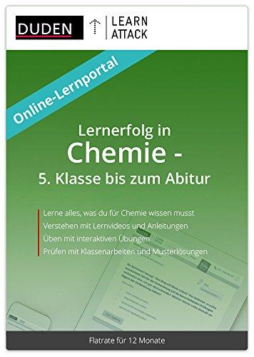 Duden Learnattack - Lernerfolg in Chemie - 5. Klasse bis zum Abitur (12 Monate Flatrate)