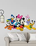 #2: Rng Disney Cartoon Group Mickey Mouse,Minnie Mouse, Donald Duck Wall Sticker