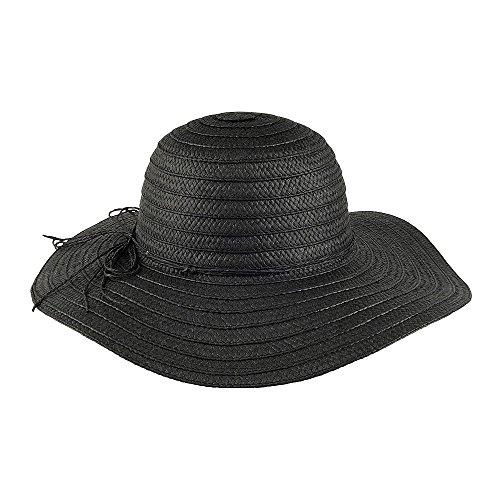 chapeau-dete-en-paille-toyo-tressee-noir-scala-noir-taille-unique
