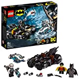 LEGO - Mr. Freeze Contre Le Batcycle DC Comics Super Heroes Batman Jeux de Construction, 76118, Multicolore