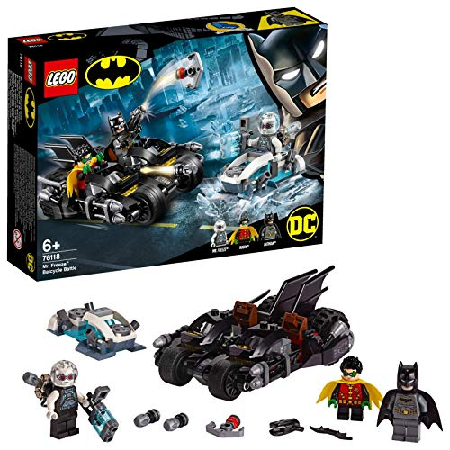 LEGO Super Heroes - Batalla en la Batmoto contra Mr. Freeze,...