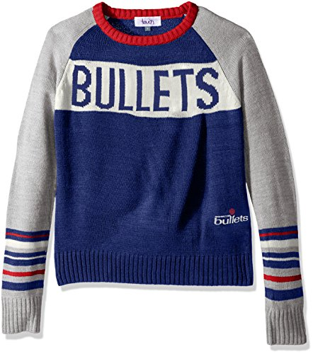 Touch by Alyssa Milano NBA Team Spirit Pullover, Damen, Hardwood Classic Team Spirit Sweater, königsblau, X-Large Nba-damen Sweatshirts