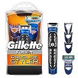 Gillette Fusion ProGlide Styler–Mehrzweck, Rasierer, Trimmer, Rasierer, batteriebetrieben