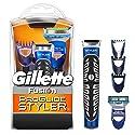 Gillette Fusion ProGlide Styler Tondeuse Multiusage 3-en-1 avec Rasoir